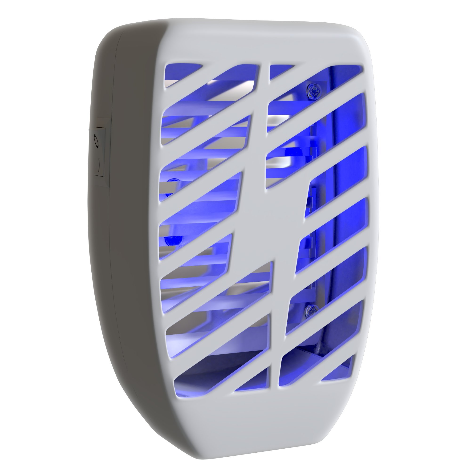 Bug Zapper & Electric Indoor Insect Killer Plug In – Mosquito, Bug, Fly & Other Pests Trap – Powerful 2500V Grid – Emits water vapors, CO2 and UV light to attract and kill most flying insects - Indoor by Way 2 Cool