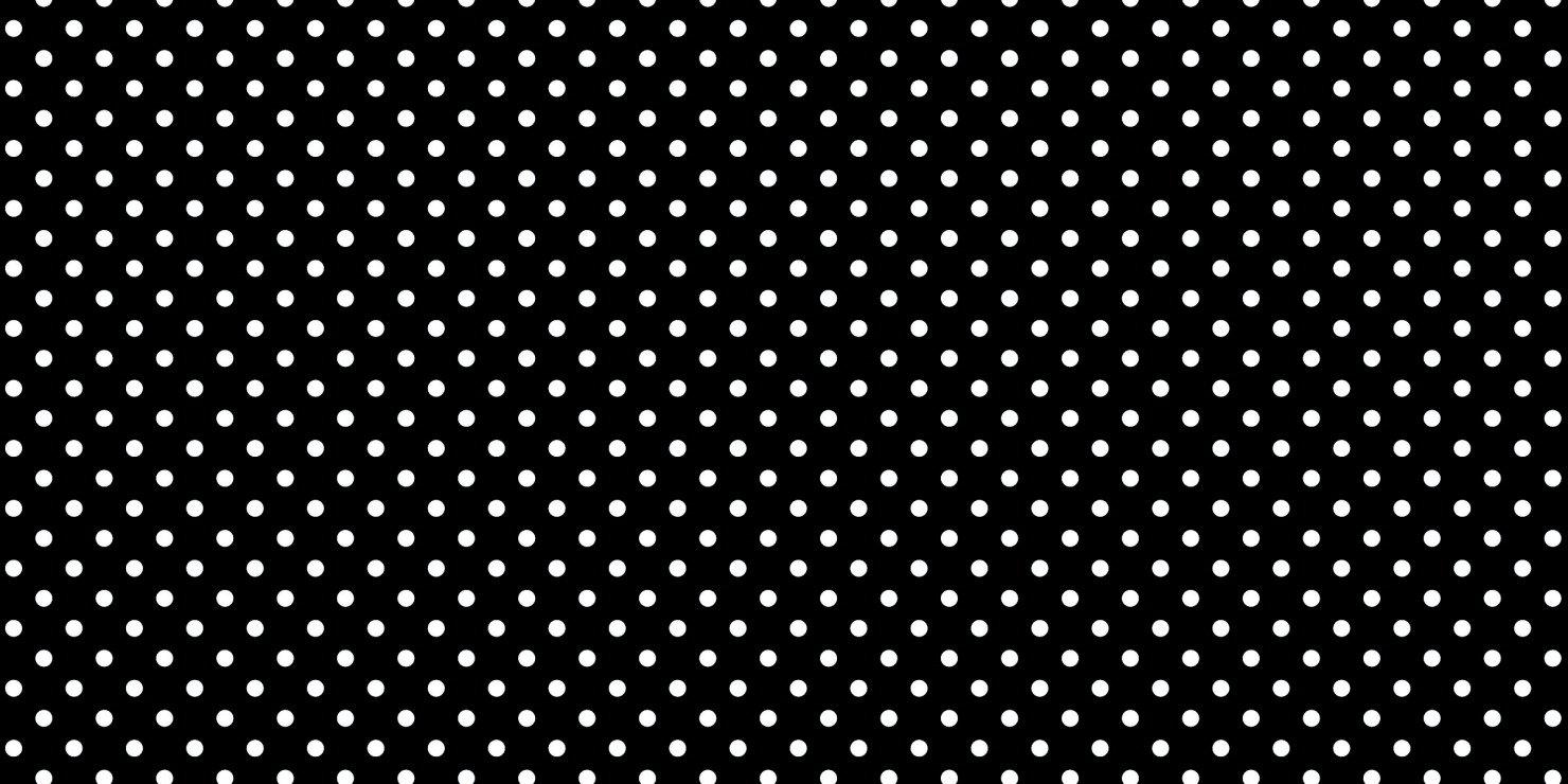 Fadeless PAC55845 Bulletin Board Art Paper, Classic Dots-Black & White, 48'' x 50', 1 Roll
