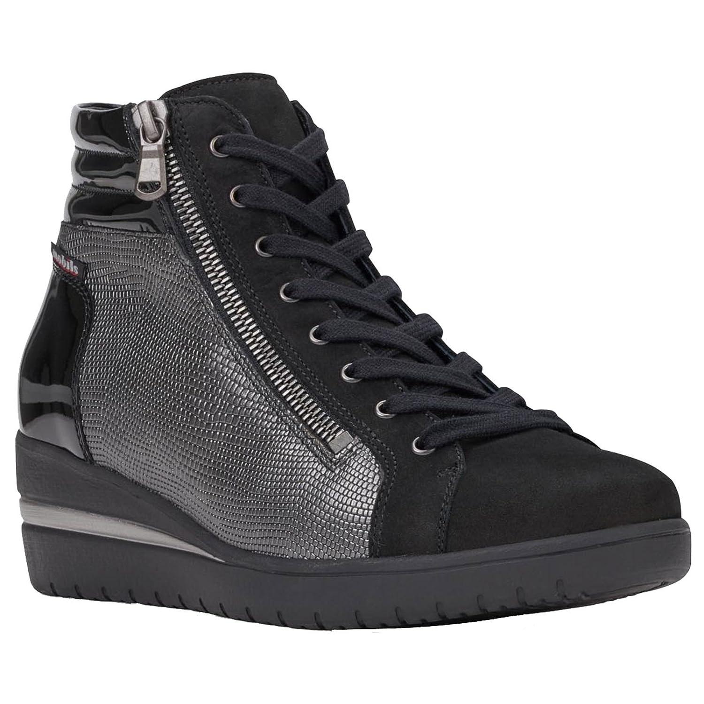 MOBILS Womens Pavina Black 19161 Nubuck Boots EU 38 Black EU - 4460665 - piero.space