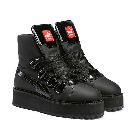 Puma Fenty by Rihanna Black Eyelet Adult s Zapatillas Boots (363040), Puma