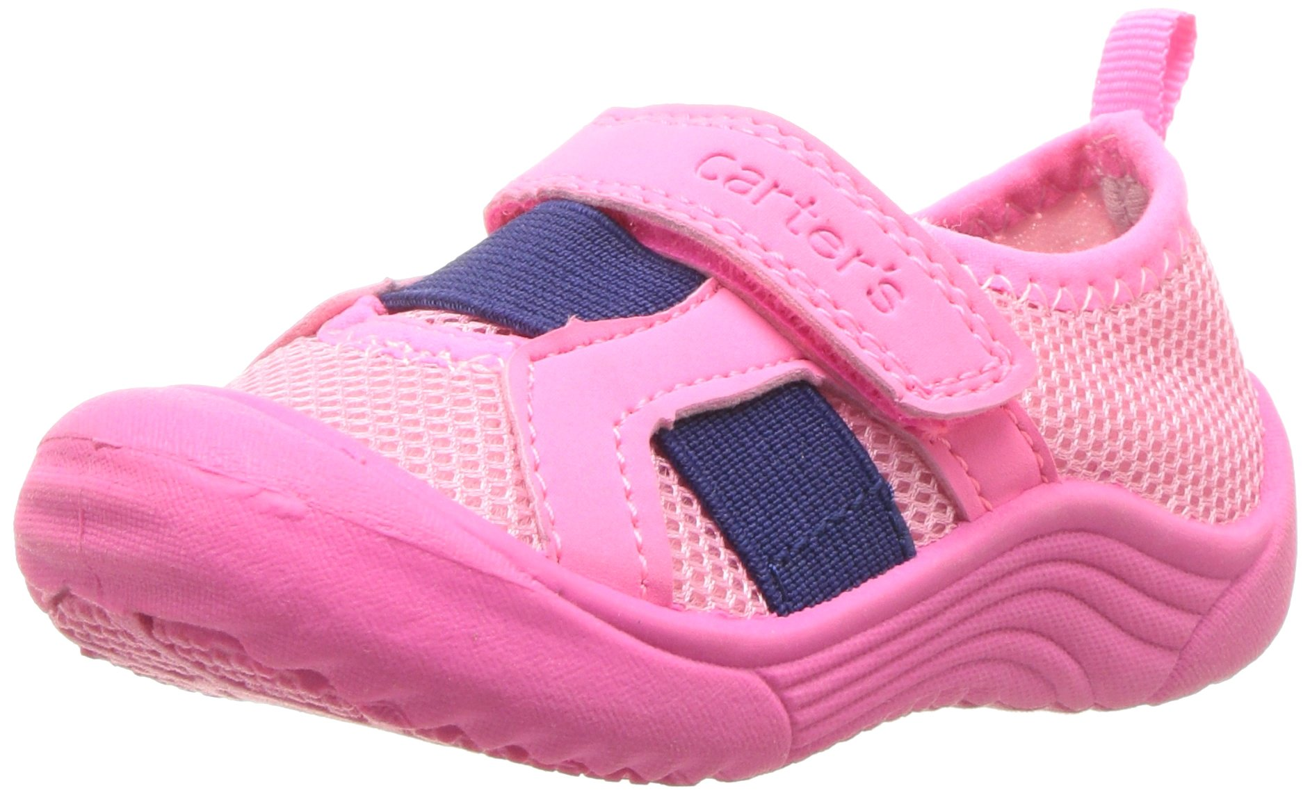 Carter's Baby Troop Boy's and Girl's Water Shoe, Pink, 8 M US Toddler
