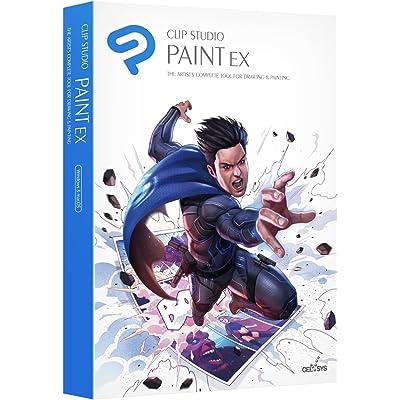 CLIP STUDIO PAINT EX - NUEVO - para Windows y MacOS, Version en español