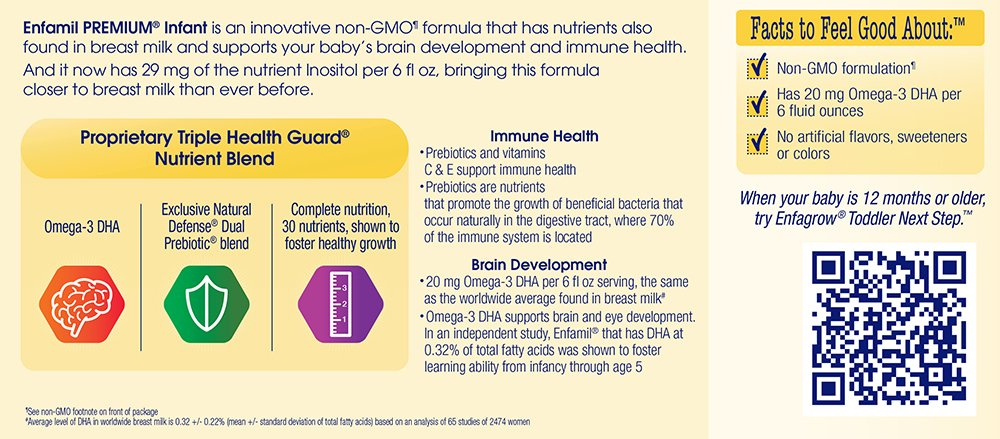 Enfamil NeuroPro Infant Formula - Brain Building Nutrition Inspired by Breast Milk - Ready to Use Liquid, 8 fl oz (24 count) Packaging May Vary by Enfamil (Image #13)