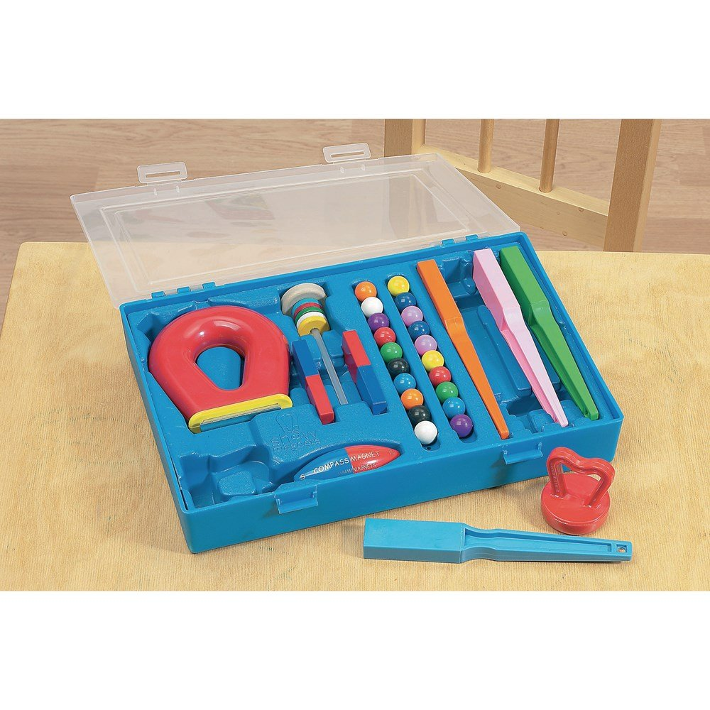 Erste Experimente Box Magnetismus (engl. Anleitung)