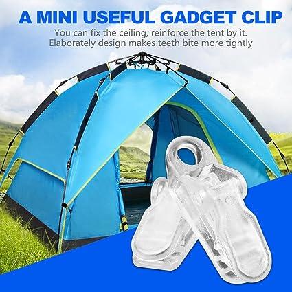 20er Set Zeltclip Planenklammern Zeltclips Klammer Planenclip Outdoor Camping@