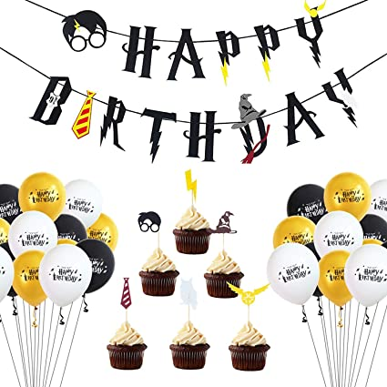 Amazon.com: 47 globos de fiesta de Potter Harry Potter ...