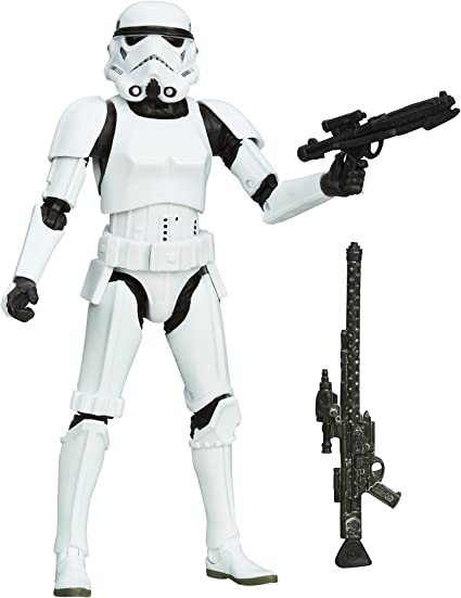 """STAR WARS THE BLACK SERIES STORMTROOPER HEAD FOR 6/""""  ACTION FIGURE"""