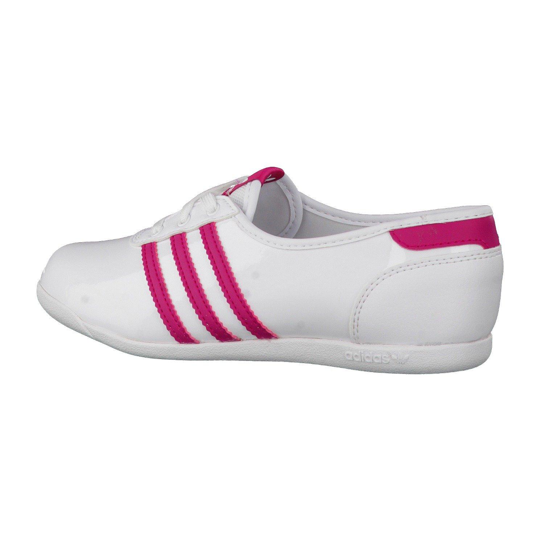 e98c687970c adidas Forum Slipper 2.0 K W Ballerinas, Girls', Blanc /Rose, 31:  Amazon.co.uk: Shoes & Bags