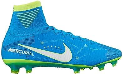 best authentic f7903 53a9b Nike Mens Mercurial Superfly V NJR FG Soccer Cleat (Sz. 8) Blue Orbit