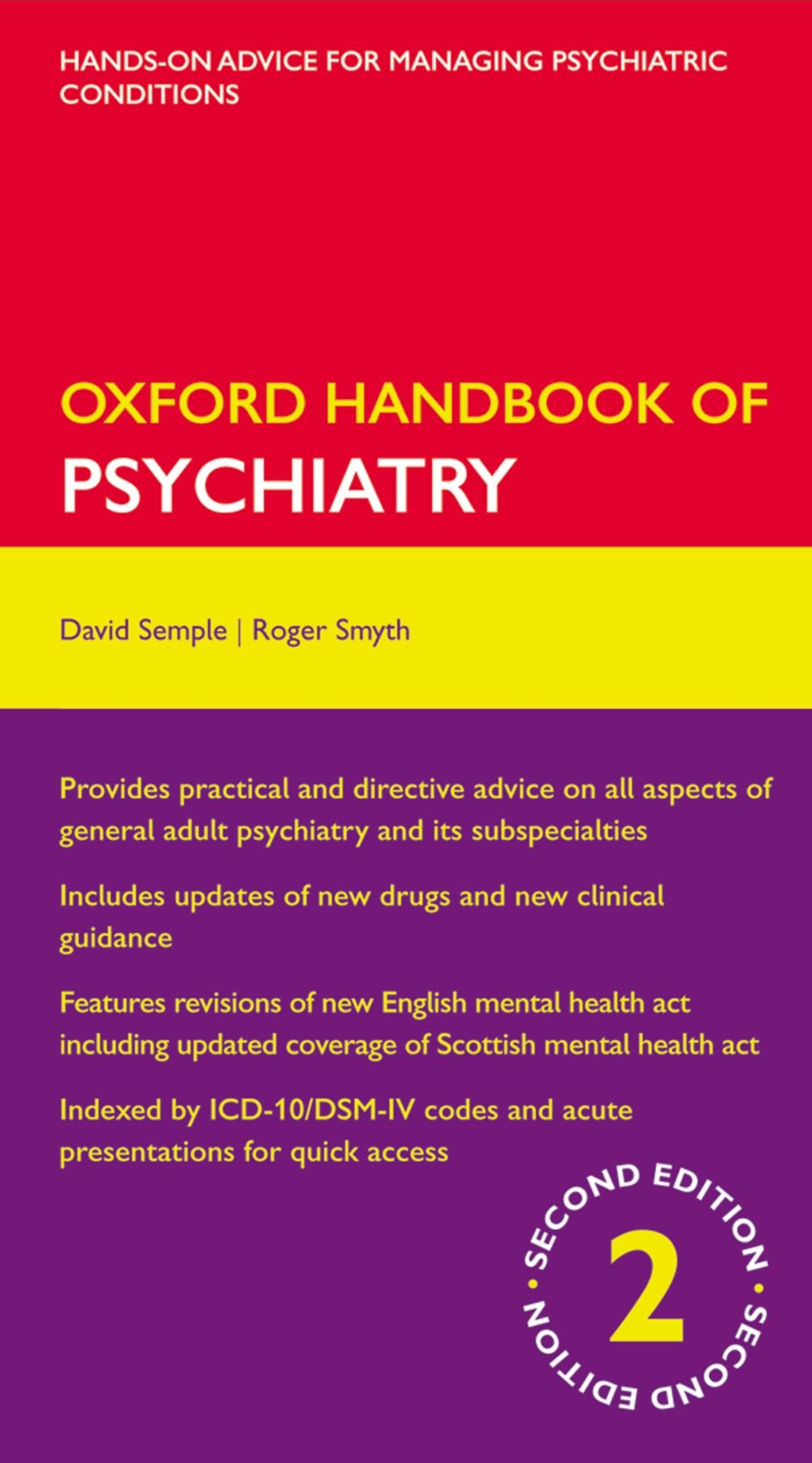Oxford Handbook of Psychiatry (Oxford Medical Handbooks