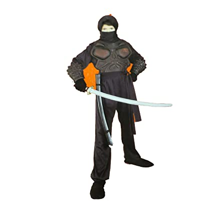 Amazon.com: Warrior Ninja Knight Costume Dress-up NWT M 6-8 ...