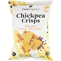 Ceres Organics Organic Chickpea Crisps Turmeric and Black Pepper, 100 g