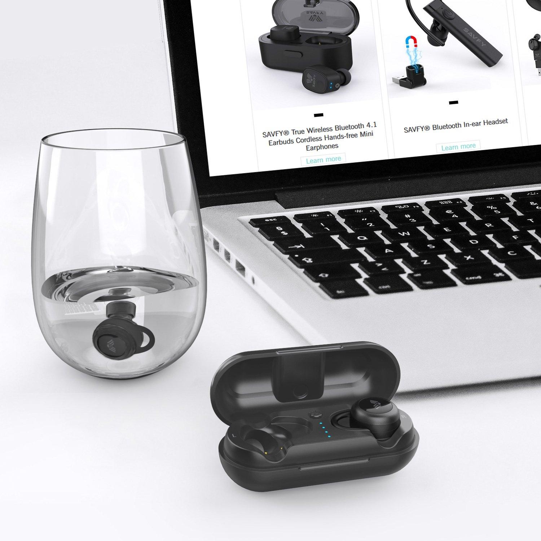 SAVFY Ecouteur Bluetooth Kit Oreillette Bluetooth