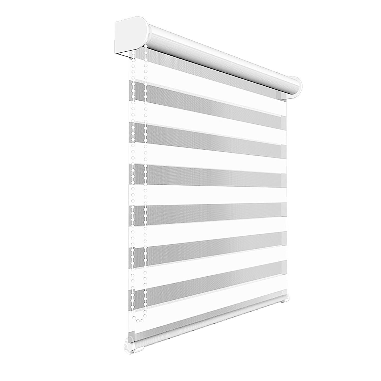 Victoria M - Estor doble enrollable (para ventanas y puertas) 160 x 175 cm, blanco: Amazon.es: Hogar