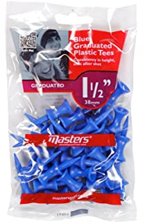 Pga tour 200 castle golf tees redyellowbluepinkgray amazon masters golf plastic graduated tees packs of 3 publicscrutiny
