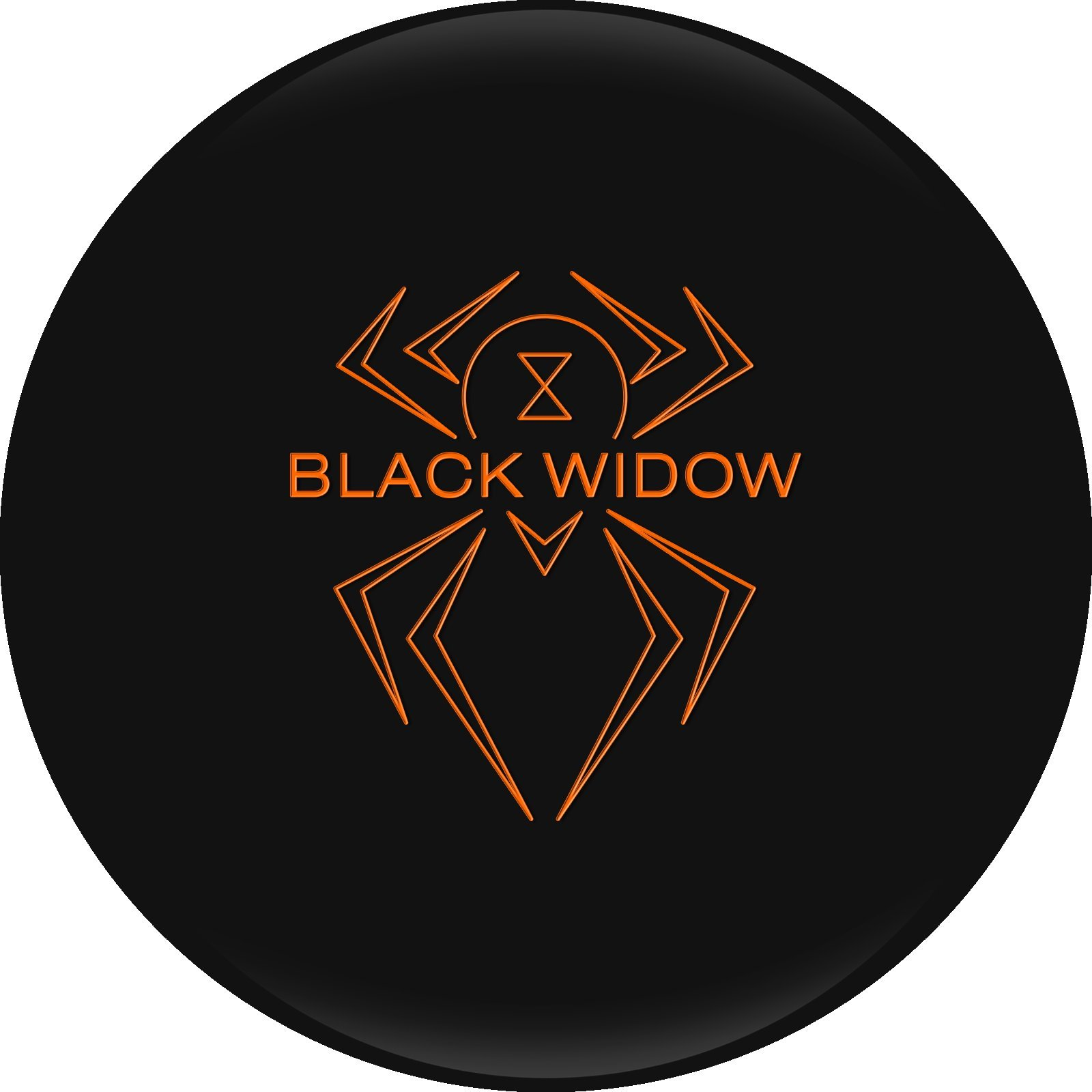 Hammer Black Widow Urethane Bowling Ball, 16lbs