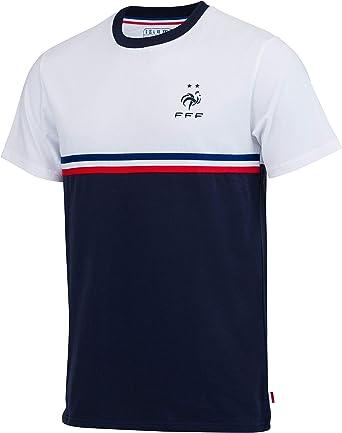 Camiseta oficial de la selección francesa de fútbol de la FFF, para niño, Niñas, azul, 8 años: Amazon.es: Ropa y accesorios