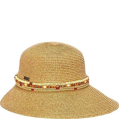 Sun  N  Sand Backless Sun Hat (One Size - Natural) at Amazon Women s ... f200956b190c
