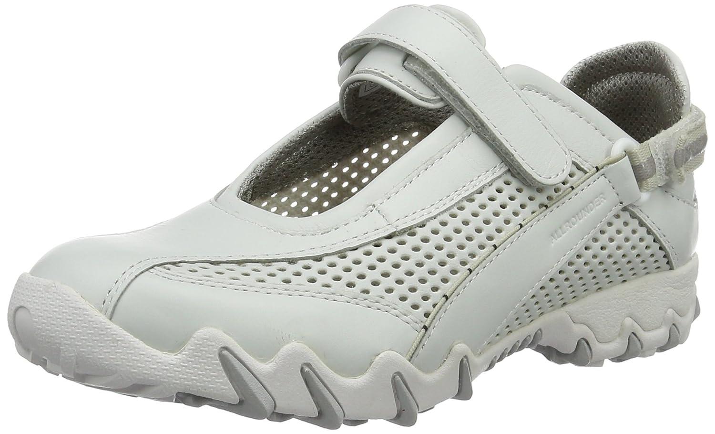 Allrounder by Mephisto P2004049 - Zapatillas de Deporte Exterior de Cuero Mujer 40 EU|Blanco (30/T Soft 30 White/White)