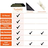 TUMELU 12pc Premium Large Size Anti Curling