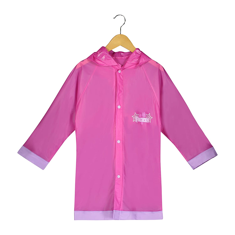 Disney Frozen Little Girls' Waterproof Outwear Hooded Rain Slicker - Toddler FZR49348ST