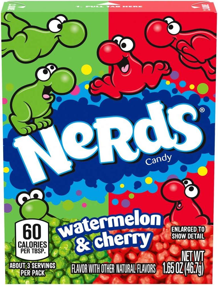 Nerds Watermelon and Wild Cherry Candy, 1.65-Ounce (Pack of 36): Amazon.es: Alimentación y bebidas