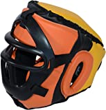 Removable Safety Mask Training Headgear for Boxing, Muay Thai, MMA, Kickboxing - Youth and Adult size