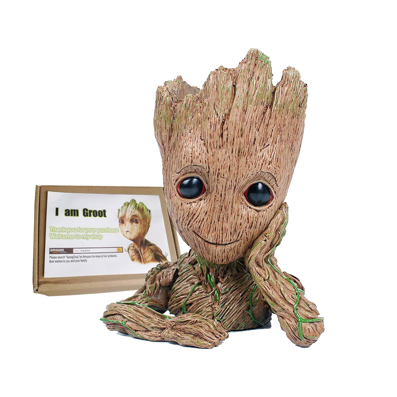Guangtoul Groot Flowerpot Guardians Of The Galaxy Baby Action Figures Cute Model Action- & Spielfiguren