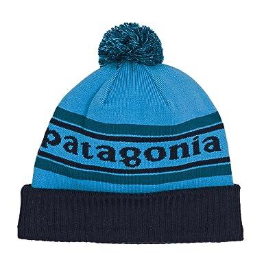 Patagonia Powder Town Beanie Park Stripe Underwater Blue ALL 6cd93d5e7