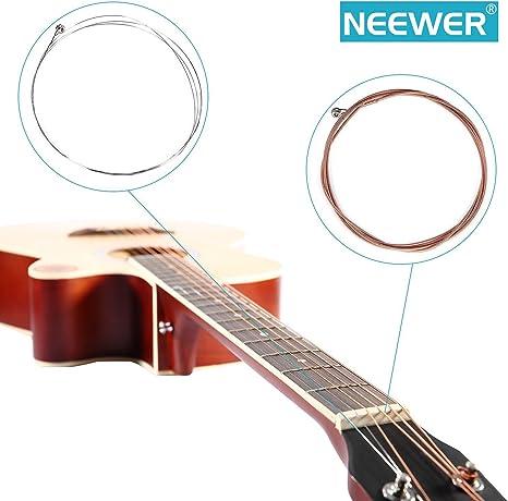Neewer® nw-a203 Cuerdas para Guitarra acústica Set: Indicadores de ...