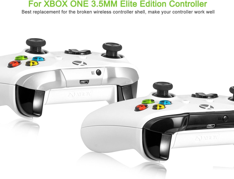 Gatillos de Repuesto - Younik Gatillos Superiores LB y RB con Destornilladores T8 y T6 y palanca parte de repuesto para Xbox One Elite control: Amazon.es: Electrónica