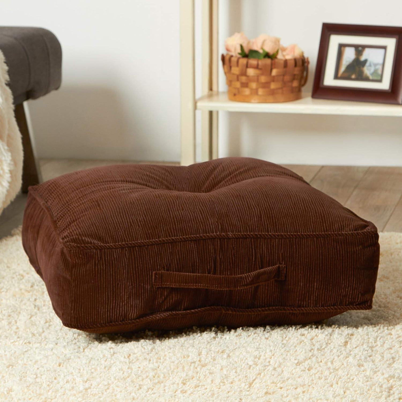 Greendale Home Fashions 20-Inch Square Floor Pillow Omaha/Amigo ...