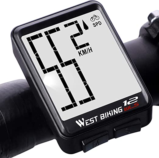 Lixada Cuentakilómetros para Bicicleta Inalámbrico Impermeable ...