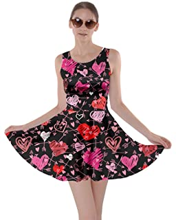 Cowcow Women S Fashion Happy Valentines Day Love Cupid Pattern Short