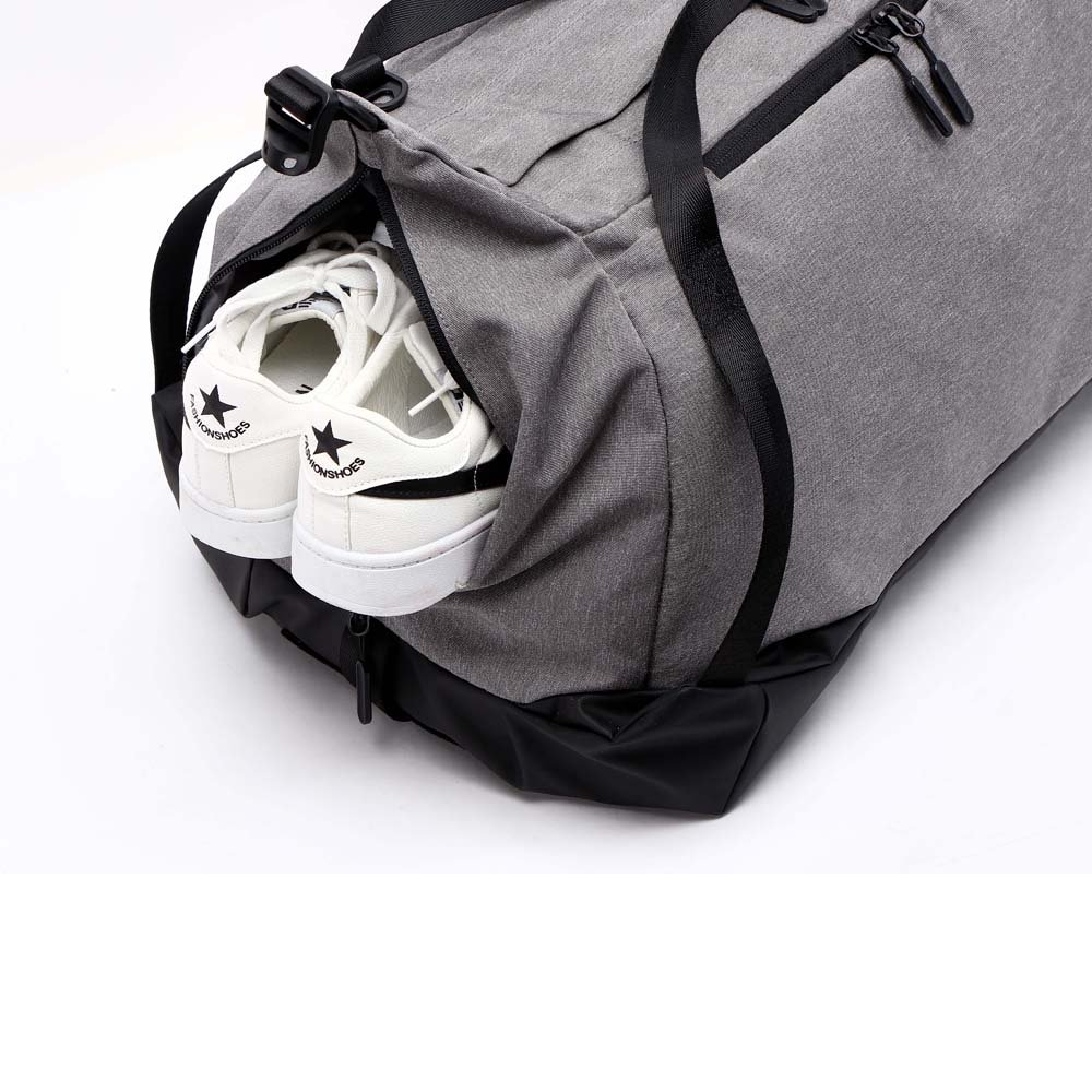 7e8248df070e Riho Tuguan Large Mens Crossbody Bag Gym Bag Hand Bag Travel Luggag  Backpack (Black)  Amazon.co.uk  Sports   Outdoors