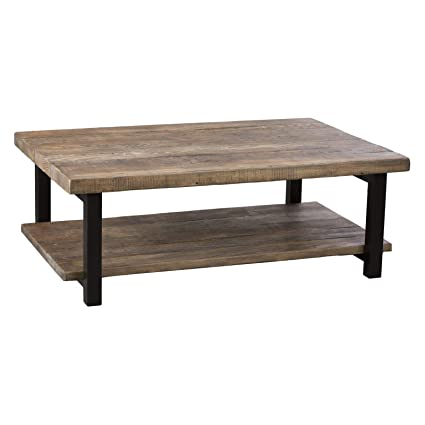 Amazon.com: Coffee Table in Natural Finish AMBA1220 New ...