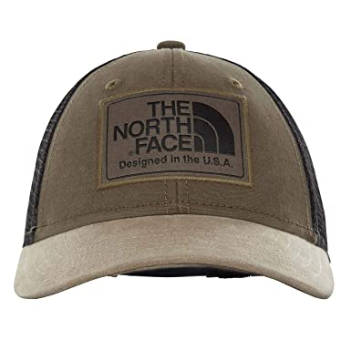 bcc81129dde41 Amazon.com: The North Face Kids Unisex Youth Mudder Trucker Hat New Taupe  Green/TNF Black One Size: Clothing