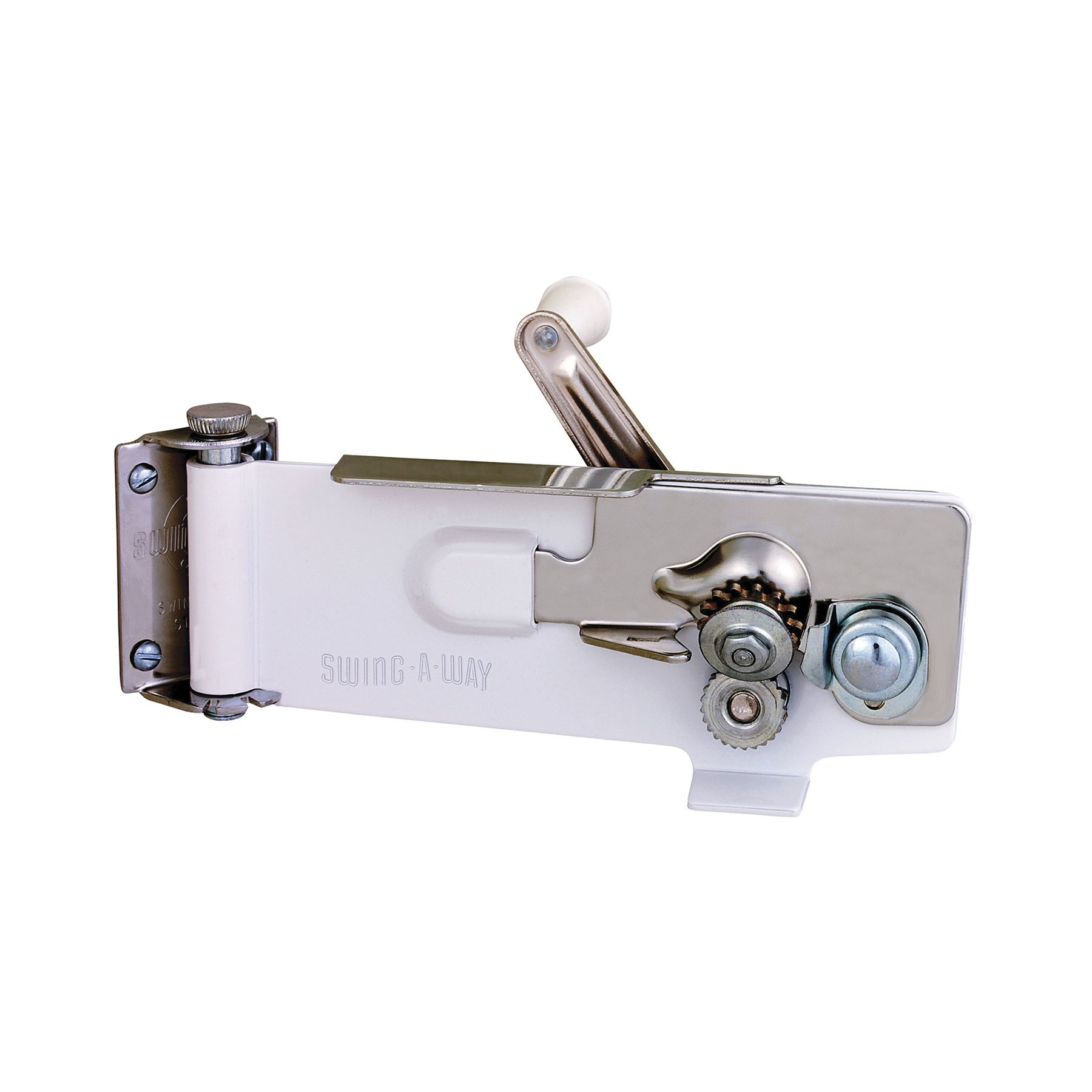 Swing-A-Way Magnetic Wall Can Opener, White by Swing-A-Way (Image #3)
