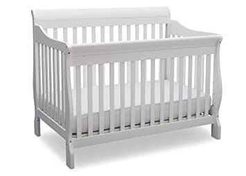 Delta Children Canton 4 In 1 Convertible Crib BiancaWhite