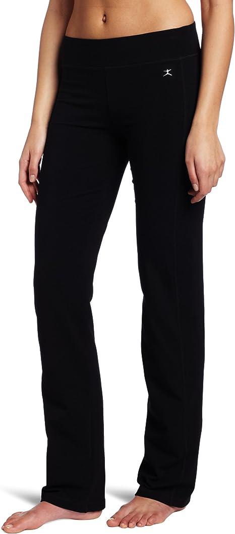 Amazon.com: Danskin pantalón de yoga ajustado para ...