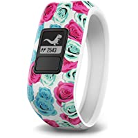 Garmin Vivofit Jr. Kids Fitness/Activity Tracker (Real Flower)