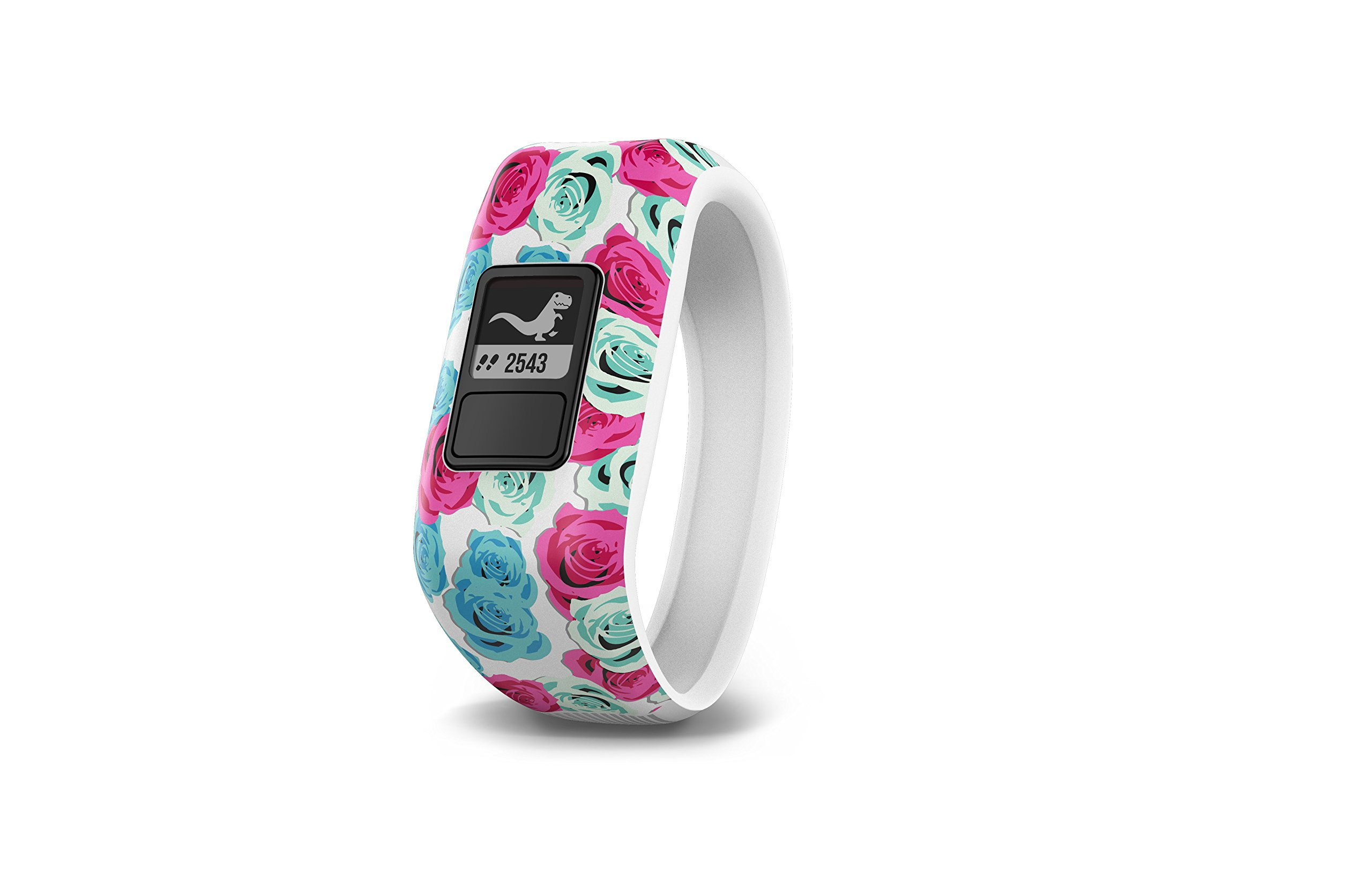 Garmin vívofit jr, Kids Fitness/Activity Tracker, 1year Battery Life, Real Flower by Garmin