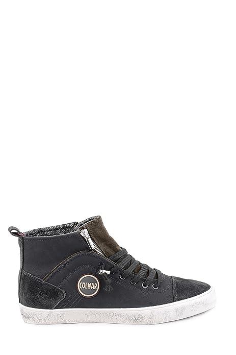 f7fc62d43561f COLMAR Durden Colors 042 sneakers hi lacci uomo PELLE GRAY GRIGIO Inverno  2018  Amazon.it  Scarpe e borse