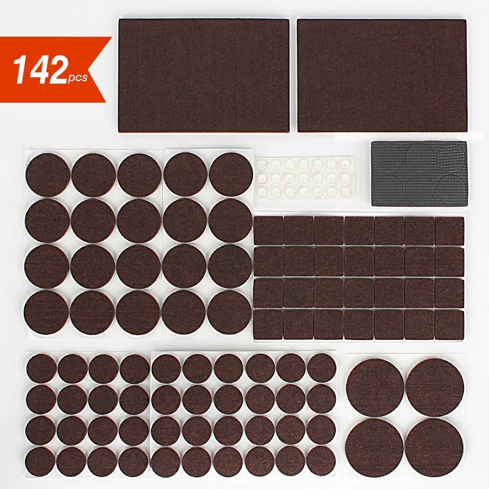 Accessoires pour meubles Tampon adhésif en feutre pour pied meuble
