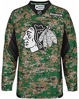 Reebok Chicago Blackhawks Jersey Stitched Digital Camo-10748-10753