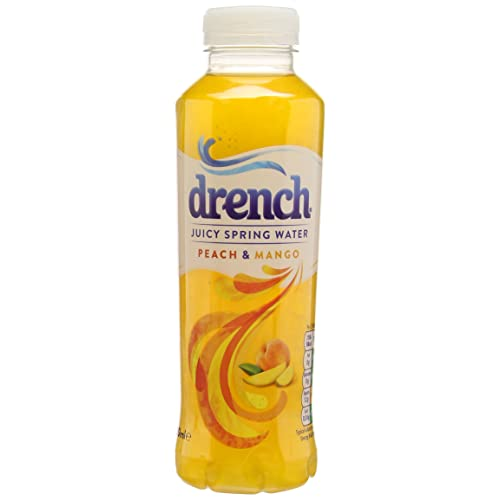 Drench Peach & Mango, 500 ml (Pack of 12)