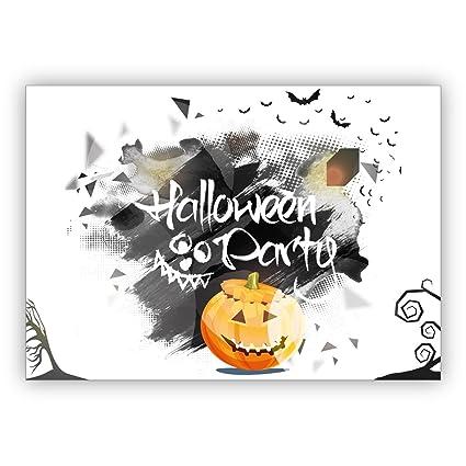 1 Tarjeta De Invitación De Halloween Espeluznante Y Hermosa