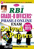 Kiran's RBI Grade – B Officers Phase – I Online Exam Solved Papers – English - 1708