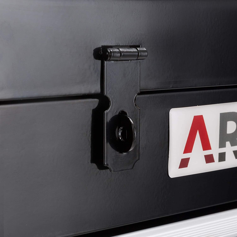 Arebos Bo/îte /à Outils 3 Tiroirs Noir