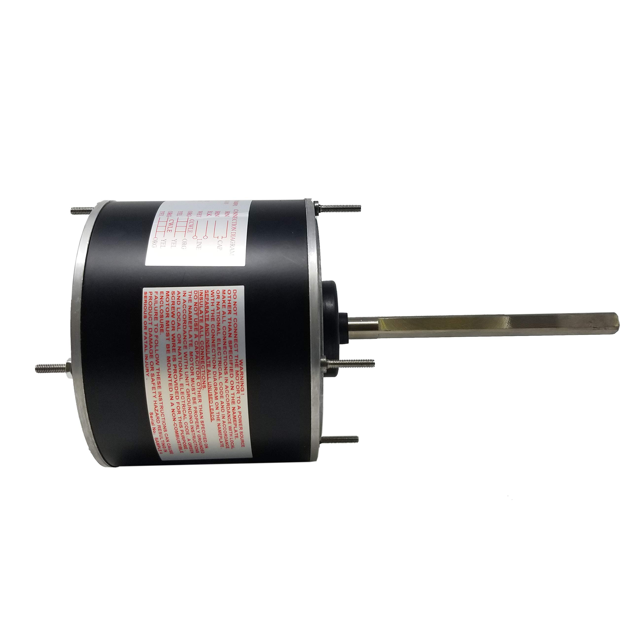 48 Frame Condenser Motor | Replaces: A.O. Smith FSE1026SV1 by P-Tech (Image #6)